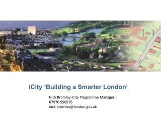 iCity 'Building a Smarter London'
