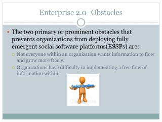 Enterprise 2.0- Obstacles