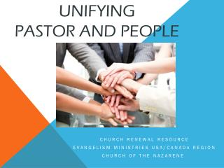 Unifying  Pastor and People