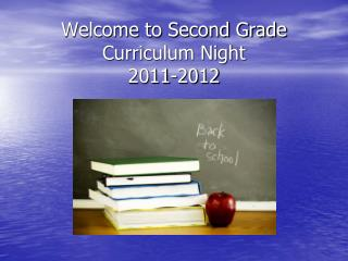 Welcome to Second Grade  Curriculum Night 2011-2012