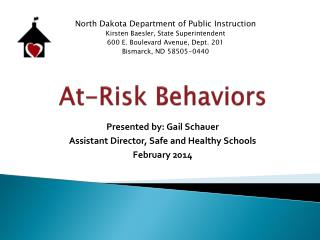 At-Risk Behaviors