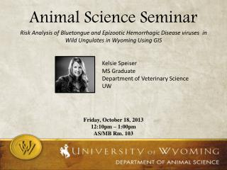Animal Science Seminar