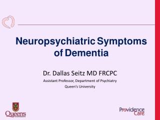 The Relationship Between Dementia Patients  Psychiatric Symptoms and Caregiver Burden
