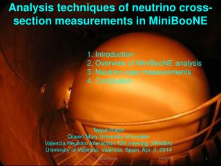 Analysis techniques of neutrino cross-section measurements in  MiniBooNE