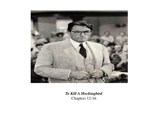 To Kill A Mockingbird Chapters 12-16