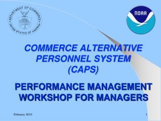 PERFORMANCE MANAGEMENT  WORKSHOP FOR MANAGERS