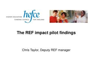 The REF impact pilot findings