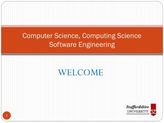 Computer Science, Computing Science Software Engineering