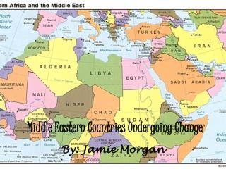 Middle Eastern Countries Undergoing Change