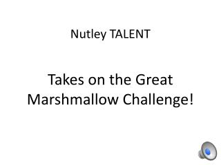 Nutley TALENT