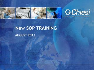 New SOP  TRAINING
