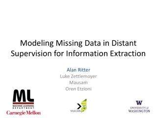 Missing Data Models