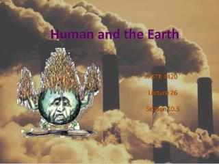 Human and the Earth