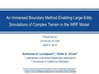 An Immersed Boundary Method Enabling Large-Eddy Simulations of Complex Terrain in the WRF Model