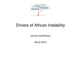 Drivers of African Instability
