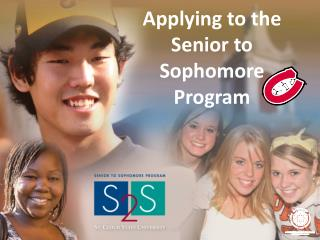 Applying to the Senior to Sophomore Program