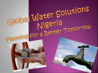 Global Water Solutions Nigeria