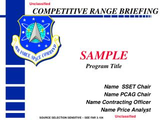 SAMPLE Program Title