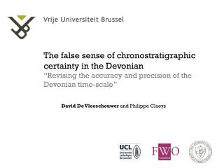 The false sense of chronostratigraphic certainty in the Devonian
