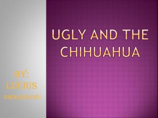 UGLY AND THE CHIhUAHUA