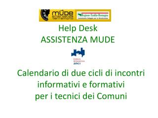 Help Desk  ASSISTENZA MUDE