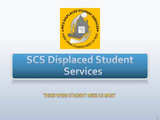 SCS  Displaced Student Services