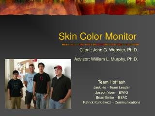 Skin Color Monitor