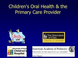 Infant Oral Health Program