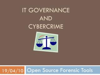 IT Governance And  Cybercrime
