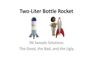 Two-Liter Bottle Rocket
