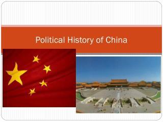 Political History of China
