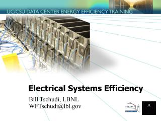 Electrical Systems Efficiency