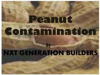 Peanut  Contamination