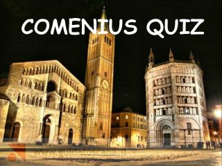 COMENIUS  QUIZ