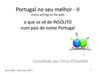 Compilado por  Chrys  Chrystello