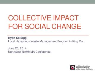 Collective Impact  For Social change