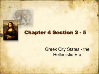 Chapter 4 Section 2 - 5