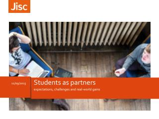 Students as partners