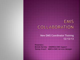 EMIS Collaboration