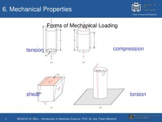 6. Mechanical Properties