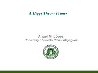 A Higgs Theory Primer