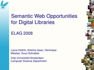 Semantic Web Opportunities for Digital Libraries