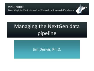 Managing the  NextGen  data pipeline
