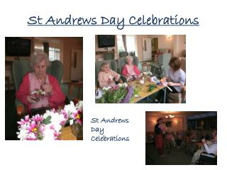 St Andrews Day Celebrations