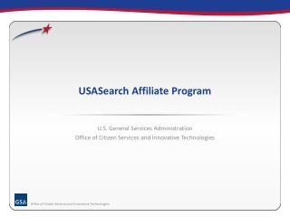 USASearch Affiliate Program