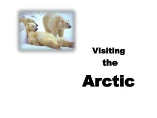 Visiting  the  Arctic