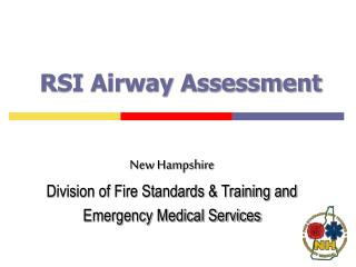 RSI Airway Assessment