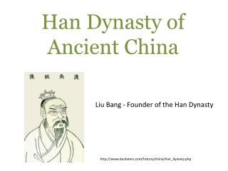 Han Dynasty of Ancient China