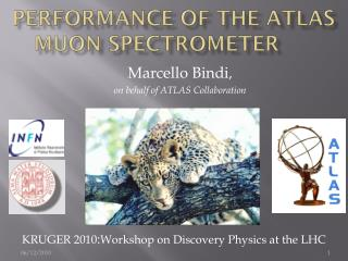 Performance of the ATLAS  muon  spectrometer
