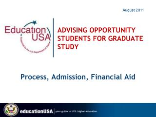 ADVISING OPPORTUNITY STUDENTS FOR GRADUATE STUDY